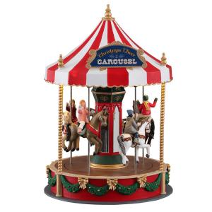 Christmas Cheer Carousel 14821 lemax