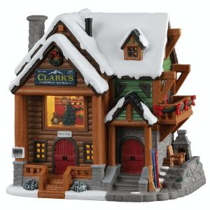 Clark's Snowcap Retreat 15747 lemax