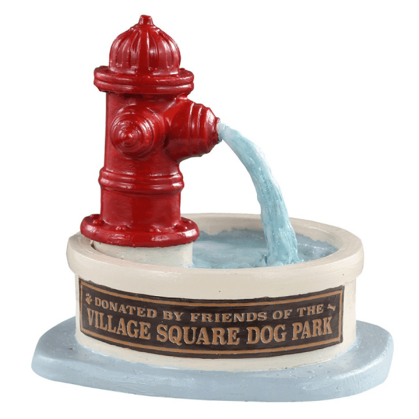 Dog Park Water Fountain 14843 lemax