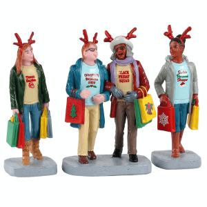 Girl Christmas Shopping Trip 12026 lemax
