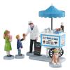 Happy Scoops Ice Cream Cart 12037 lemax