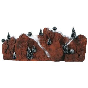 Large Village Mountain Backdrop 81011 lemax