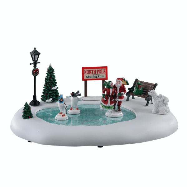 North Pole Skating Rink 14837 lemax