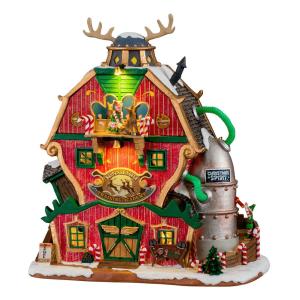 Santa's Reindeer Training Academy 15793 lemax