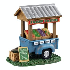 Farm Fresh Vegetable Trailer 13565 lemax