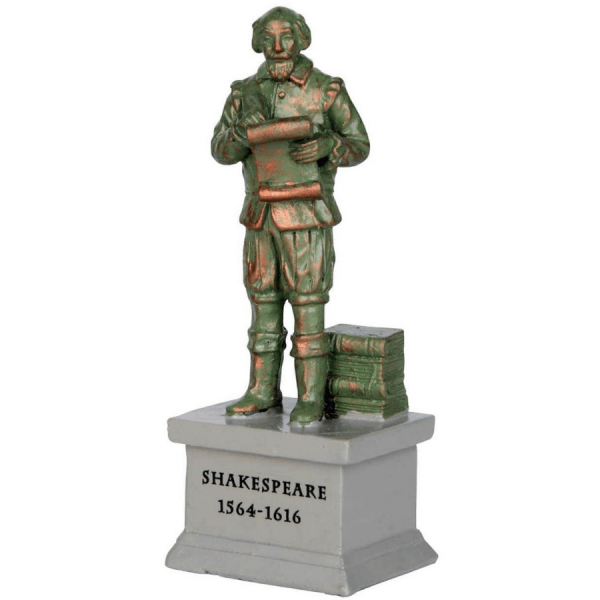 Park Statue Shakespeare 64075 lemax